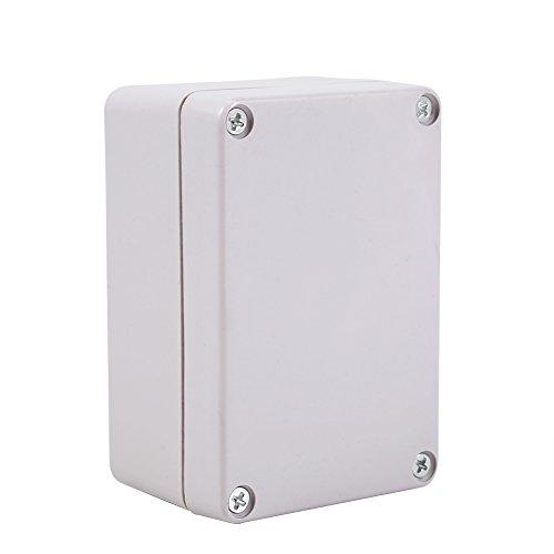GLOGLOW Cajas de Conexiones Impermeables 1pc, Caja eléctrica de cableado plástico ABS Retardante de Llama Material Cuadrado...