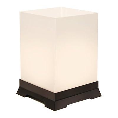 LumaBase 63712 12 Count Tabletop Lanterns, Black Base