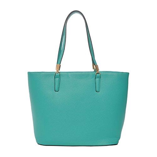 UPC 684758986139, Mechaly Women's Sydney Green Synthetic Leather Tote Handbag