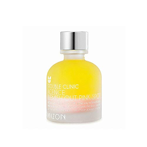 Mizon Acence Blemish Out Pink Spot, Spot Solution Serum 30ml AHA&BHA Layer and Calamine Layer Calms any Skin Trouble Completely in One Night, Reduces Redness and Irritations, Easy to Apply