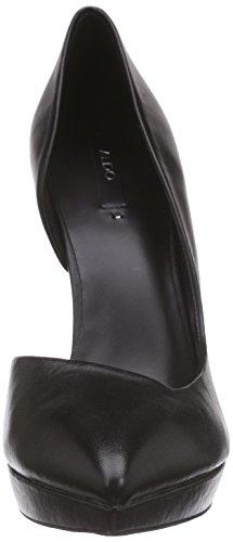 Aldo Giacomina - Tacones Mujer Negro - Schwarz (Black Leather 97)