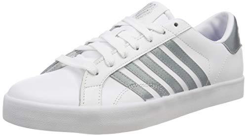 Gray Sneakers Low Mist Swiss K 129 So White Women's Belmont White Top pWZWqz4Sw