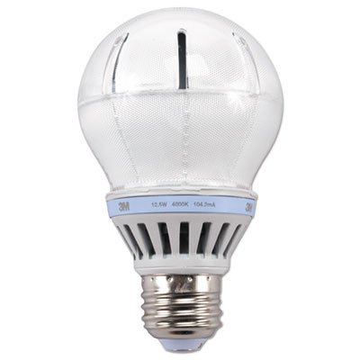 Price comparison product image LED Advanced Light Bulbs A-19,  57 Watts,  Cool White