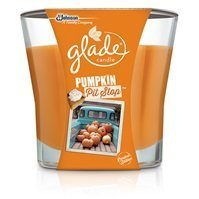 Glade Scented Candle, Pumpkin Pit Stop, 3.8 oz