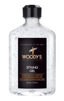 - Woody's Mega Firm Styling Gel 8.4oz