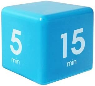 Amazon.com: The Miracle Time Cube Timer 5/15/30/60 Minutes For Management Kitchen Kids Timer Workout Time Digital Timer - Kitchen Tools & Gadgets Kitchen Timer & Calculator - (Blue) - 1 x The Miracle Time Cube: Kitchen & Dining