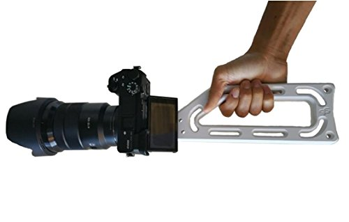 White Camera Holder - Universal Grip For All Camera With Tripod Mount. For GoPro iPhone Samsung Mirrorless and Stabilizer Gimbal. Ultra lightweight, Multiple gadget by G6 Products by G6 PRODUCTS