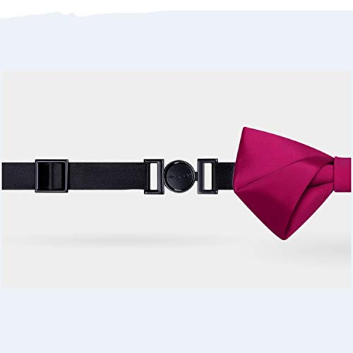 ZJF Textured Pink Silky Handmade Necktie Fashion Mens Dress Accessories Wedding Groomsmen Casual Party Neckcloth Formal Dress