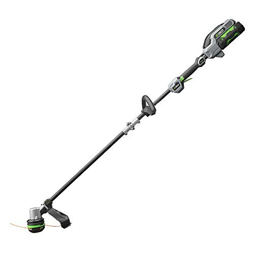 Ego 56-Volt Lith-ion Cordless Electric 15 in. Powerload String Trimmer with Carbon Fiber Shaft Kit
