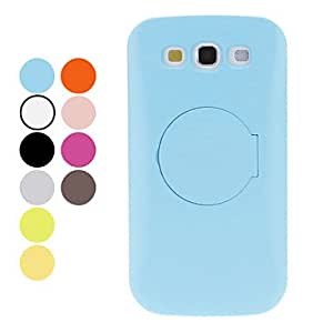 Buy Protective Hard Case with Stand and Mirror for Samsung Galaxy S3 I9300 (Assorted Colors) , Rose