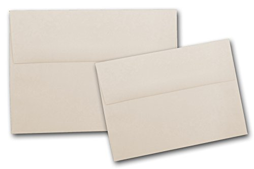 Neenah Classic Crest Natural White A7 Envelopes - 50 Pk