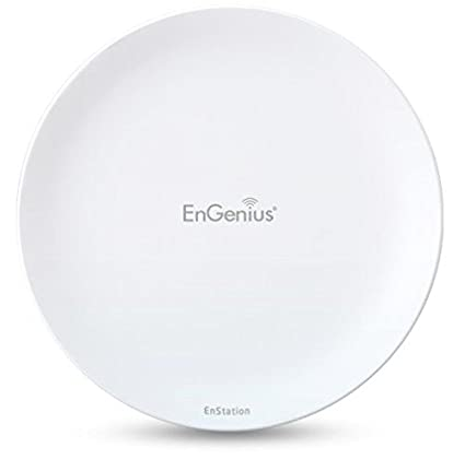 EnGenius Technologies 5 GHz High-Powered, Long-Distance Wireless N300 Outdoor AP/Client Bridge (EnStation5) EnGenius Technologies Incorporated