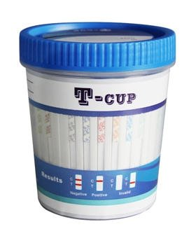 Multi Panel (10 Drugs) Integrated Urine Drug Test Cup (COC/THC/OPI/BZO/MAMP/TCA/OXY/BUP/BAR/MTD) (50 Kits)