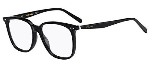 Celine Plastic Rectangular Eyeglasses 53 0807 - Prescription Celine Glasses