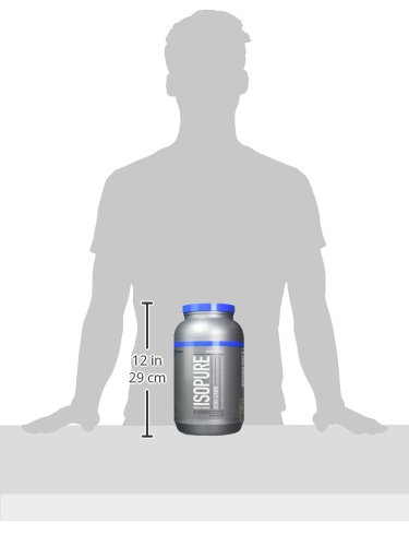Isopure Zero Carb Protein Powder, 100% Whey Protein Isolate