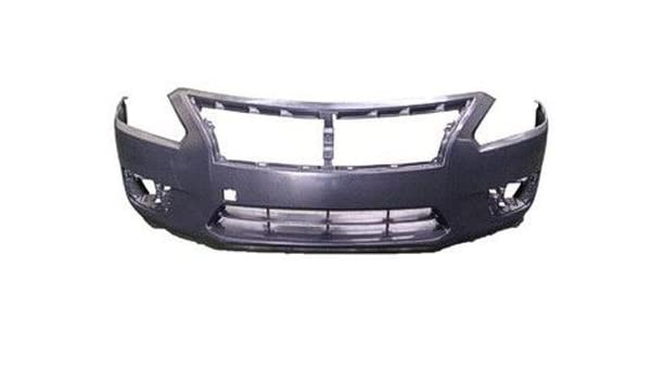 Front Bumper Cover Assembly Primed Fits 13-15 Altima Sedan NI1000285 620223TA0H