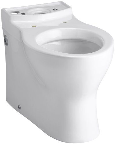 Kohler K-4322-0 Persuade Elongated Toilet Bowl, Less Seat, White