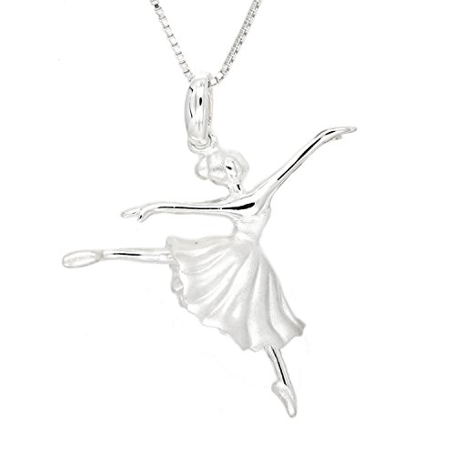 Sterling Silver 3d Rhodium Plated - 1