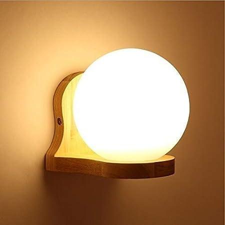 Giow Aplique de Pared LED Aplique Luz de Noche Moderna para Pasillo, Escalera, jardín, Pared, Dormitorio, Sala de Estar, Estilo de actualización Blanco cálido: Amazon.es: Hogar