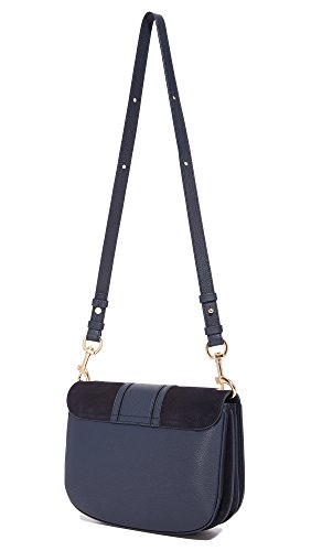 Saddle Chloe Ultramarine Women's See by Hana Bag qAZZIw