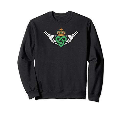 - Gothic inspired Claddagh sweatshirt