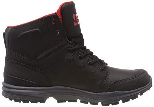 Dc red Combo Xksr Skateboard Chaussures Torstein Shoes black De grey Homme Gris AwApTqvr