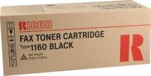 Ricoh FAX4430NF Toner 5000 Yield Type 1160 Genuine Orginal OEM toner