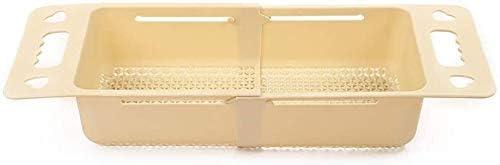 NOLOGO Drain Korb 3 Pack, beweglicher Hohlabfluss Korb, PP-Material Retractable Sink Korb, geeignet for Restaurant, Hotel, Küche (Größe: C) (Size : C)