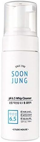 Etude House- Soon Jung pH 6.5 Whip Cleanser
