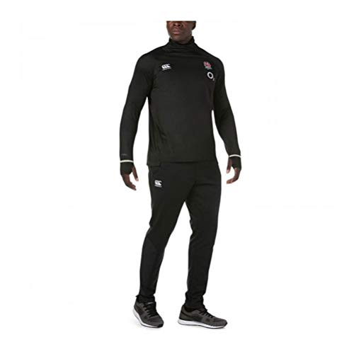 Canterbury 2018-2019 England Rugby Vapordri Elite First Layer Top (Anthracite)