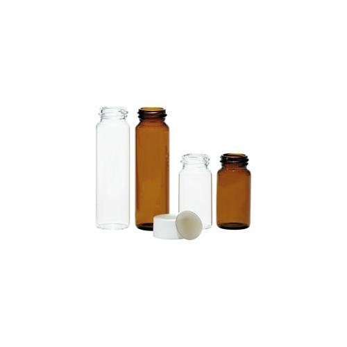 National Scientific Clear glass EPA Vial 40ml (5 Cases of 100 eaches - 500 eaches) by National Scientific