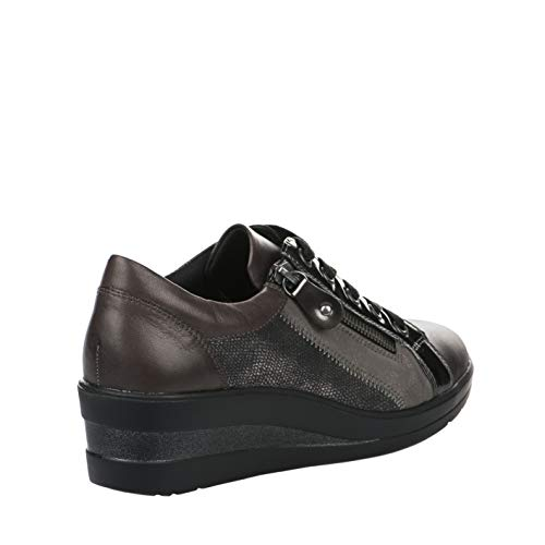 Femme Remonte Chaussures Taupe De Confort CF4q6