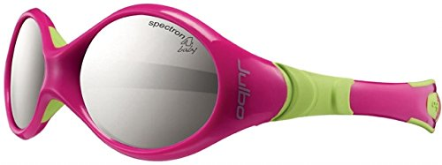 Julbo Looping I Baby Sunglasses, Fuschia/Lime, 0-18 - Asian Julbo Fit