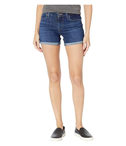 Levi's Women's Mid-Length Shorts, Dark Indigo Moon, 33 (US 16)