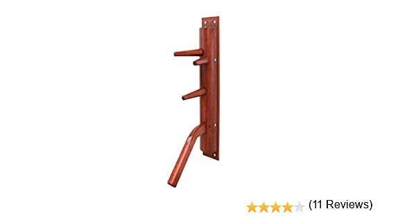 Wing Chun semicircular wooden dummy with leg: Amazon.es: Deportes ...