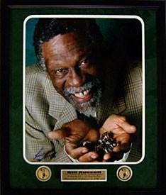 Signed Bill Russell Picture