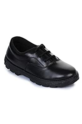 Liberty Prefect Black Kids School Shoes