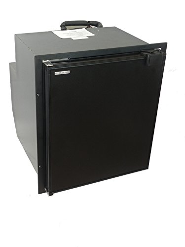 TruckFridge TF65 Black Refrigerator (2.4 cubic ft 12vDC for Commercial Vehicles)