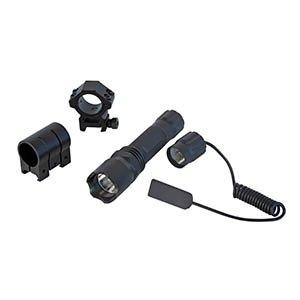 Sun Optics USA CLS-200 Flashlight Kit with 200 Lumens/Pressure Cord/Mount