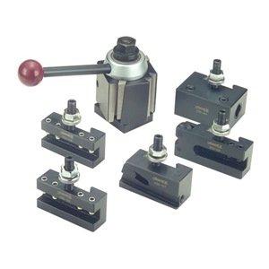 PHASE II 251-111 100WST 6 Pc Wedge Q/C Tool Post Set-Lathe Swing 9