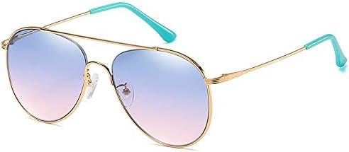 CDKET 男性と女性のナイロンレンズサングラス、カラフルなメタルメガネ、クラシックカエルミラー、UVプロテクション CDKET (Style : 3)