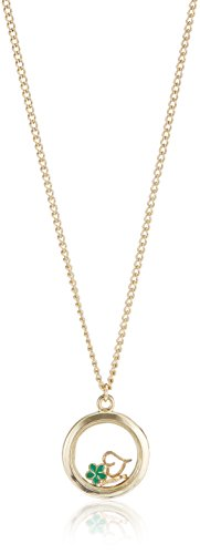 Funky Fish (Necklace) for Women (Golden) (I-630_B7297473287776)