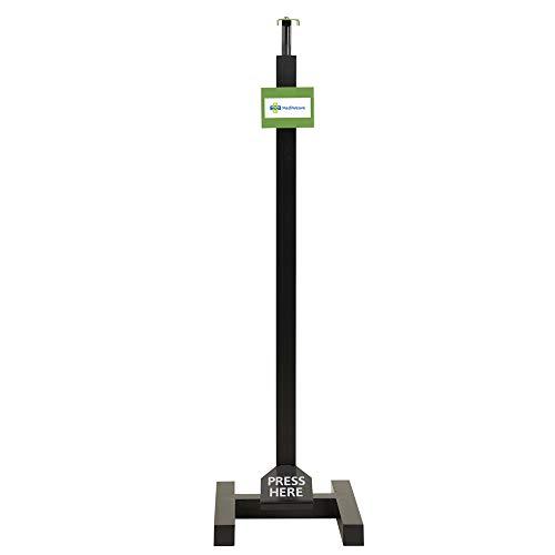 Mediweave Manual Hand Sanitizer Dispenser Stand, Touch Less Foot Operated Hand Sanitizer Stand, H type – (Pedal Mechanism, Height Adjustable) Price & Reviews