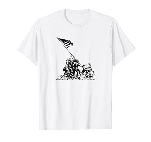 (Raising Flag on Iwo Jima T Shirt)