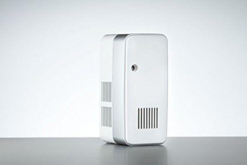 Hygiene-shop Top-Select SmartAir 3.0 weißer/schwarzer Ozonfreier - Raumbedufter mit Propellerantrieb, Farbe:Weiß