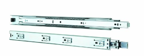 Knape & Vogt 4100P 8 Side Mount Full Extension Drawer Slide, 8-Inch, Pair (Extension Storage Full Drawer)