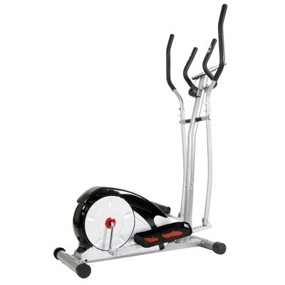 Body Champ Magnetic Elliptical Trainer Silver/Black