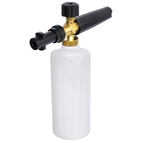 AutoCare Adjustable Foam Cannon Gun for Karcher Snow Foam Lance Adapter Soap Dispenser K Pressure Washer