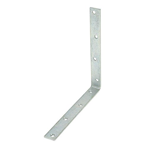 10 in. Galvanized Corner Brace -  Everbilt, 31960