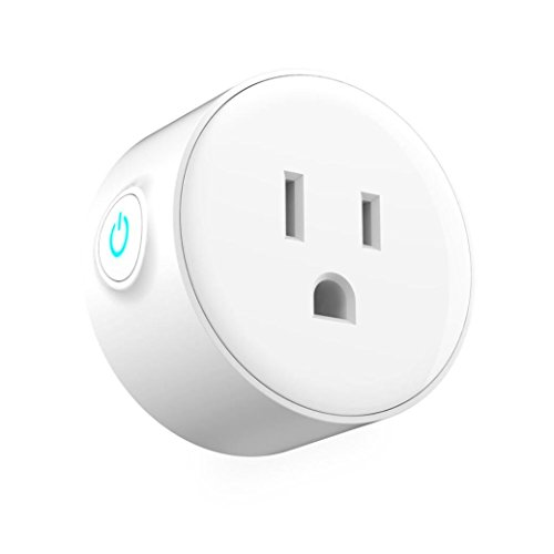 Amiley Smart Switch, Smart Plug Wi-Fi Enabled Mini Outlets Smart Socket Control Your Electric Devices from Anywhere Works with Amazon Alexa and IFTTT Google Assistant